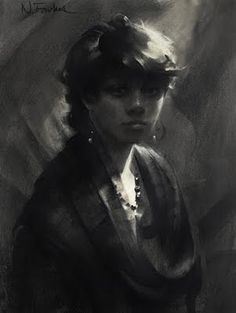Nathan Fowkes - portrait drawing