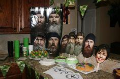 duck dynasty party ideas | Duck Dynasty Birthday Party!