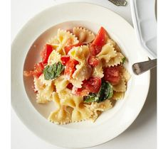 Just wanted to share this delicious recipe from Lidia Bastianich with you - Buon Gusto! Raw Summer Tomato Sauce for Pasta