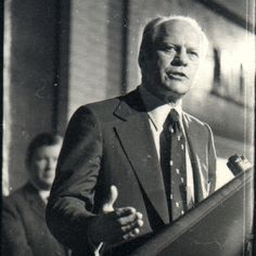 President Gerald Ford at NorthPark Center in 1976