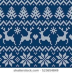 Similar Images, Stock Photos and Vector Illustrations: Christmas and New Year Design Seamless Knitting Pattern - 494119693 Knitted Christmas and New Year pattern Always aspired to figure out how to knit, however undecided where to begin? Cross Stitch Borders, Cross Stitch Designs, Cross Stitch Patterns, Knitted Christmas Stockings, Christmas Knitting, A Christmas Story, Christmas And New Year, Christmas Design, Knitting Charts