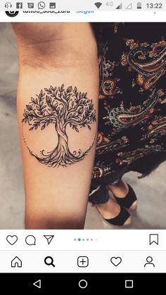 tattoos Trendy tree of life tattoo meaning ink ideas Bad Tattoos, Future Tattoos, Body Art Tattoos, Sleeve Tattoos, Tatoos, Symbolic Tattoos, Unique Tattoos, Beautiful Tattoos, Small Tattoos