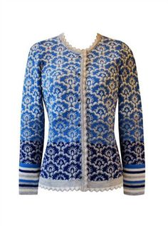 OLEANA Norway - The knitwear is high quality and a good alternative to classic costume jackets. Perfect for the Dirndl. Knitwear Fashion, Cardigan Fashion, Knit Fashion, Fair Isle Knitting, Winter Trends, Knit Cardigan, Knit Sweaters, Cardigans, Knitting Patterns