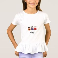 Shop Designers girly tshirt : Mimiri edition created by Bee_and_Glow_Art. Skate T Shirts, Fishing T Shirts, Cool T Shirts, Baby Tutu, Girls In Love, Holiday Fashion, Shirt Style, Fitness Models, Shirt Designs
