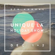 Unique LA holiday show. December 1 & 2! Can't wait to bring Simmering Sugars peppermint toffee!
