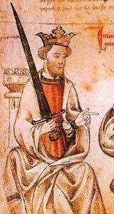 Sancho IV de Castilla (Valladolid, 12 de mayo de 1258 – Toledo, 25 de abril de 1295), llamado «el Bravo», fue rey de Castillaa (1284–1295). Era hijo del rey Alfonso X de Castilla, y de su esposa, la reina Violante de Aragón, hija de Jaime I el Conquistador, rey de Aragón.La llegada de Sancho IV al trono vino motivada, en parte, por el rechazo de un sector de la alta sociedad castellana a la política de su padre, Alfonso X, y a su admiración por la cultura árabe y judía.