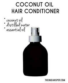 Coconut Oil keeps your hair strands strong, rejuvenates deep in to the follicle keeping the hair strong.  Deeper oil penetration, gives your hair and scalp complete nourishment for problem free, healthy hair. It provides nourishment and prevent overall hair damage. Here, we've rounded up the best homemade coconut oil hair products to try now. COCONUT OIL HAIR SPRAY
