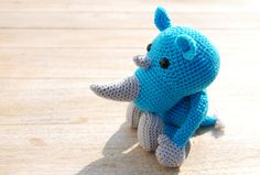Amigurumi Rhino : 1000+ images about Cute gifts for crazy people on ...
