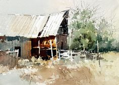 Carl Purcell, Ken Strate's barn