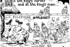Zapiro: All the king's men - Mail Guardian King Horse, Kings Man, Caricature, Rocks, Cartoons, Comics, Men, Image, Cartoon