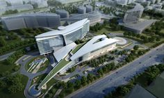 Huashan Hospital is an 800-bed facility being designed as part of the 77-acre Shanghai Hongqaio International Medical Center Campus. The facility specializes...