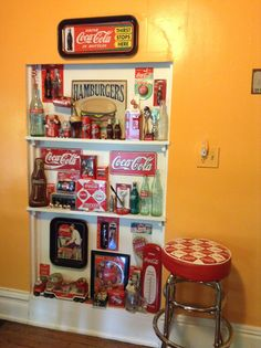 American Drinks, Coca Cola Decor, Coca Cola Kitchen, Always Coca Cola, Diet Coke, The Good Old Days, Coco, Affair, Kitchen Decor
