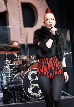 Shirley Manson of Garbage performing at BFD 2012 held on June 2nd, 2012 at the Shorline Amphitheater.