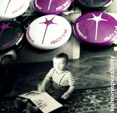 naše placky / library badges