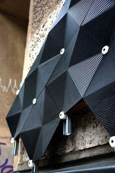 Carbon negative facade by Made of Air Architecture Design, Parametric Architecture, Parametric Design, Facade Design, Wall Design, Le Manoosh, Inspiration Design, Building Facade, 3d Prints