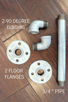 industrial pipe door handle
