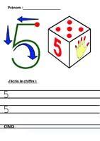 Apprendre à écrire les chiffres