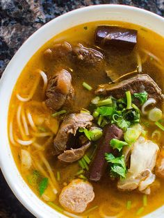 If you want to understand Vietnam's regional cultures, geography, and people, look to noodle soup.
