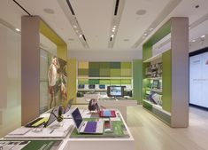 Sony Leap Westfield Century City, Los Angeles By Klein Dytham architecture, Shibuya-ku, Tokyo. Visual Merchandising, Westfield Century City, Assisted Living Facility, Electronic Shop, Store Layout, Branding, Store Fixtures, Retail Interior, Interior Walls