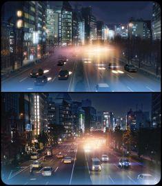 Animé <-> Reality - Imgur Makoto Shinkai