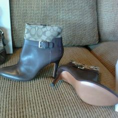 COACH boots Brand new boots Coach Shoes Ankle Boots & Booties