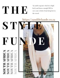 BLOG LINK   Zandile Funde Blog   South African Blogger   #BLOG #BLOGGER #SOURHAFRICANBLOGGER #SOUTHAFRICANBLOG #BLOGLINK Crowd, White Jeans, Blog, Link, Outfits, Style, Fashion, Outfit, Moda