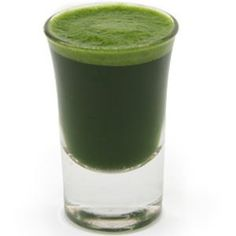 wheat grass juice. Omg I LOVE LOVE LOVE this stuff!