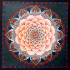 The Dawn Mandala by Eitan Kedmy