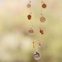 ALEX AND ANI Chain Station Necklaces | Expandable Necklaces | Necklace Charms | Express your unique story by creating your own Chain Station Necklace