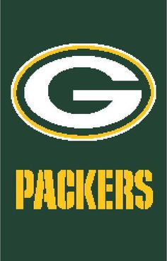 Green Bay Packers Crochet Graph   Chart by StitchtasticDesigns 40990e0cb