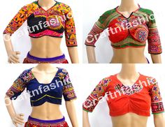 Hand Embroidered Kutch Work Blouse  indian boho banjara blouse  kutch EMBROIDERY stitched BLOUSE top choli   by  #CraftsOfGujarat #craftnfashion #meghcraft #indianethnicjewelry #IndianTraditionalJewelry Megh Craft - Indian Ethnic Jewelry