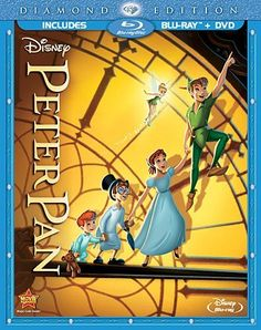 Peter Pan (Two-Disc Diamond Edition Blu-ray/DVD Combo in Blu-ray Packaging) Blu-ray ~ Bobby Driscoll, http://www.amazon.com/dp/B00A0MJA1I/ref=cm_sw_r_pi_dp_kE7jrb0FHYXZH