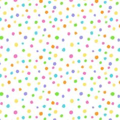 Hippity Hop Dots on White by Shelly Comiskey for Henry Glass. Pastel dots scattered on a white background. This fabric is 44 inches wide and cotton. Candy Clipart, Scrapbook Paper, Scrapbooking, Sprinkles, Dots, Clip Art, Paper Beads, Glass, Fabrics