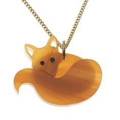 Fox Necklace - Honey @ Howkapow