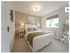 The perfect, modern guest bedroom. #newhomes  #property