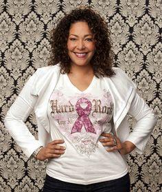 Womens Pinktober 2012 Vneck T-shirt   Hard Rock Shop