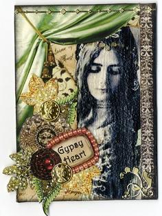 Gypsy Heart ATC by lauracars12000, via Flickr