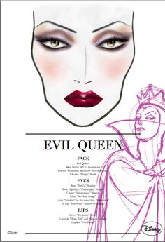 Evil Queen makeup -beauty squared: September 2010