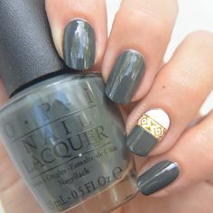 """OPI """"LIV"""" IN THE GRAY"""