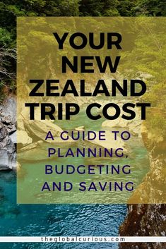Learn all the Costs of a Trip to New Zealand! Budget, plan and come visit New Zealand! Whatever you are planning to do, this guide will help you get going easily. Living In New Zealand, Visit New Zealand, New Zealand Adventure, New Zealand Travel Guide, Places To Travel, Travel Destinations, Travel Aesthetic, Vacation Trips, Travel Around The World
