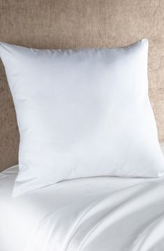 Nordstrom at Home Down Euro Pillow Insert (2 for $79) available at #Nordstrom