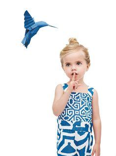 Visually striking Diane Von Furstenberg for GapKids summer collection 2013