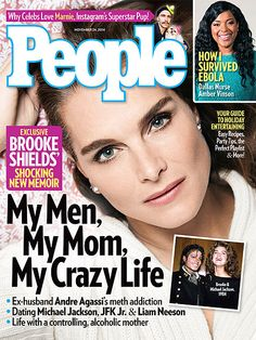 ON NEWSSTANDS 11/14/14: Brooke Shields opens up about her crazy life. Plus: An Ebola surviver speaks out and more.