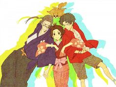 Tags: Anime, Samurai Champloo, Mugen (Samurai Champloo), Kasumi Fuu, Jin (Samurai Champloo)