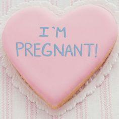 Anuncio de embarazo