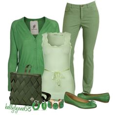 """It's Not Easy Being Green"" by kellylynne68 on Polyvore"