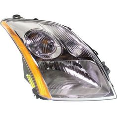 2007-2009 Nissan Sentra Head Light RH, Assembly, 2.0l Eng. - Capa