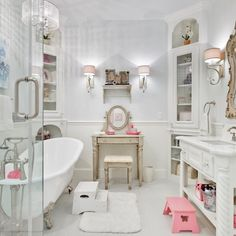 How cool is this kid's bathroom??