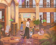 Miss Rumphius ~ by Barbara Cooney, children's, Jan @ Yearning for God has made my day! Miss Rumphius became my very fav. Barbara Cooney, Children's Picture Books, Inspirational Books, Children's Literature, Children's Book Illustration, Book Illustrations, I Love Books, Childrens Books, Illustrators