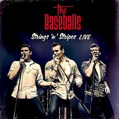 The Baseballs - Strings 'n' Stripes Alemania Blu-ray Live Band, Funeral Music, Baseball Live, Rock Cover, Rock And Roll Bands, Chor, Album, Rockabilly, All Star